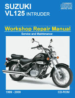Suzuki VL125 Intruder 1999 - 2009 Workshop Service repair shop Manual DOWNLOAD