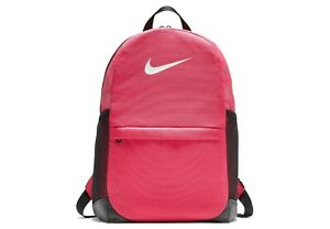 Nike Women's Girls' Brasilia Pink Backpack Rucksack Bag BA5473-666