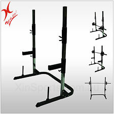 DISPLAY - MULTI PRESS SQUAT RACK/BENCH PRESS/CAGE WEIGHT LIFTING - FOR 220CM BAR