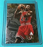 MICHAEL JORDAN 1995-96 FLEER METAL NUTS & BOLTS 212 RARE SP Great Card