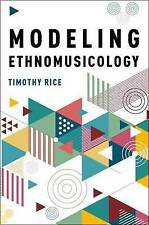 Modeling l'ethnomusicologie par timothy riz (paperback, 2017)