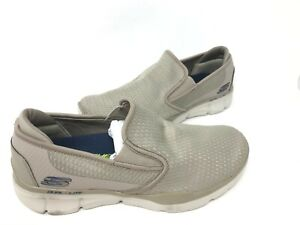 NEW! Skechers Men's EQUALIZER 3.0 TRACTERRIC Slip On Shoes Taupe #52936 186A
