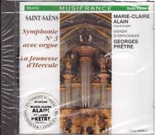 Saint-Saens: Sinfonia N.3 Con Organo / Marie-Claire Alain, Georges Pretre - CD