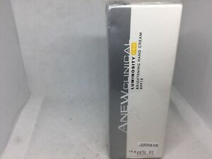 AVON ANEW CLINICAL LUMINOSITY PRO BRIGHTENING HAND CREAM 75 G