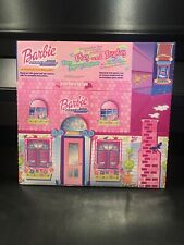 Barbie 2000 Millenium Collection Play & Display Cardboard House McDonald's Toy