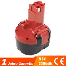 Akku NICD 9.6V 2.0Ah für Bosch 32609-RT GDR 9.6 V GSR 9.6 PSR 9.6 VE-2 PSR 960