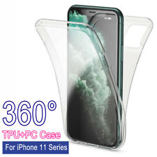 360° Full Body Clear Front+Back Case Shockproof Slim Cover For iPhone 11 Pro Max