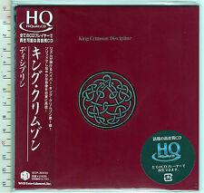 King Crimson , Discipline  (Ristampa-Reissue  HDCD, HQCD-PaperSleeve)