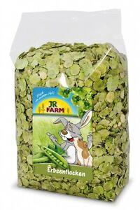 JR Farm Erbsenflocken 1 kg / Nager Futter /  Einmalige Versandkosten