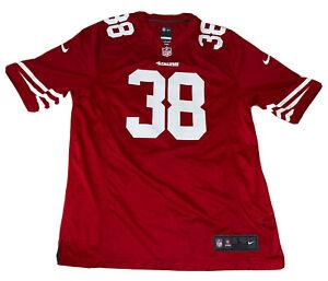 JARRYD HAYNE San Francisco 49ers Official NFL Nike Jersey #38 Size Large