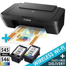 Canon PIXMA MG3050 All-In-One Colour Wireless WiFi Printer + Canon Ink Bundle