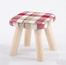 Unbranded Wooden Red Benches & Stools