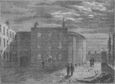 SOUTHWARK. The King's bench, Southwark, in 1830. London c1880 old print