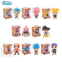 Funko pop Dragon Ball Vinyl Action Figure Son Goku Krilin Trunk Buu Vegeta