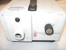 SCHOTT FOSTEC KL 1500 DDL HALOGEN LAMP FIBER OPTIC ILLUMINATOR 115V/120V 60 HZ