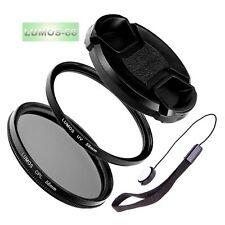 58mm Polfilter UV Filter Set passt zu Olympus M.Zuiko 40-150 mm LUMOS Zubehör
