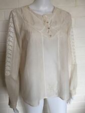 Zara Long Sleeve Hand-wash Only Solid Tops for Women