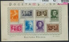 Poland block10 (complete issue) fine used / cancelled 1948 Culture (8162412