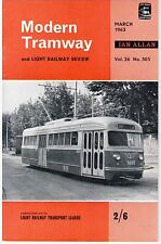 Modern Tramway 303 Hill of Howth, Tramways de Barcelone, etc. (March 1963)