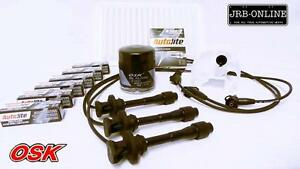 suits TOYOTA CAMRY MCV36R V6 3.0L 1MZ-FE AIR OIL FUEL PLUGS+IGNITION LEADS 02-06
