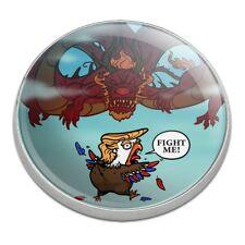 Trump Trade War with China Red Dragon Golfing Premium Metal Golf Ball Marker