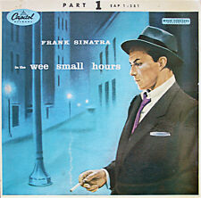 """Frank Sinatra In The Wee Small Hours pt1 EP 7"""" 45rpm 1955 UK vinyl record (g-)"""