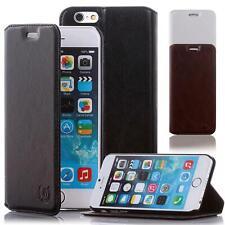 Handy Hülle Apple iPhone 4 5 SE 6 6 Plus Schutzhülle Flip Cover Case Etui Tasche