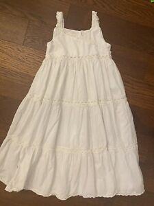 strasburg bella Luna heirloom lace dress 6y Vintage VTG