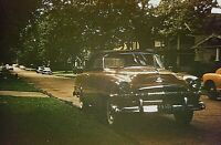 SU06 ORIGINAL KODACHROME 1960s 35MM SLIDE CLASSIC CARS 1953 Plymouth convertible