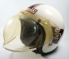 Vtg 1970s YAMAHA Enticer HELMET Open Face w/ Bubble Shield Motorcycle Snowmobile