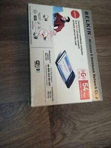 Belkin High-Speed Mode Wireless G Notebook Network Card