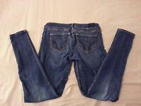 Womens Hollister Skinny Jeans 5R Denim Pants