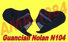 "GUANCIALI INTERNI COMFORT per NOLAN N104 TG."" M-L "" ORIGINALE NOLAN SPRCP295"