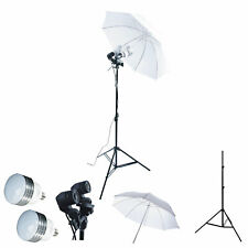 5PCS LED 1800W Photo Studio Lighting Kit Umbrella Stand Dual Photography Light