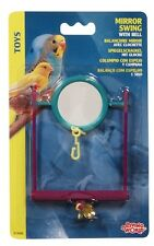 Hagen Living World Bird Cage Mirror Swing w/ Bell
