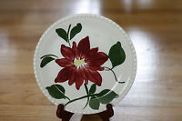 """Vintage BLUE RIDGE SOUTHERN POTTERIES HAND-PAINTED PLATE 11E MADE IN U.S.A. 9"""""""