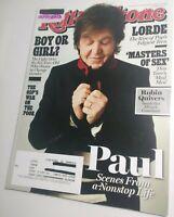 Rolling Stone Magazine 11/7/2013 Paul McCartney / Wings /The Beatles [near mint]