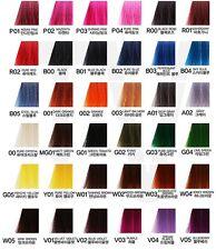 Anthocyanin Hair Color Manicure 230g (45 colors) Semi Permanent Hair Color Dye