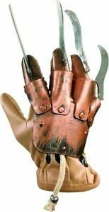 Nightmare On Elm Street Costume Accessory, Mens Freddy Krueger Glove Style 2