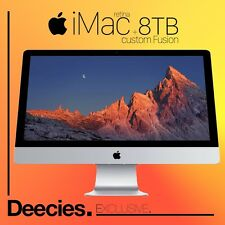 "Nuevo Apple Imac Retina 27"" 5k 4.0Ghz i7 32gb Ram exclusiva 8TB Fusion skylake Mac"