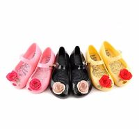 Rose kids Girls Mini Melissa Shoes Sandals Toddler US Size 6-11 EUR 21-29