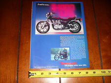 1977 KAWASAKI KZ 1000 LTD - ORIGINAL AD