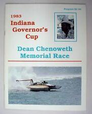 mint 1983 MADISON unlimited hydroplane race program unused