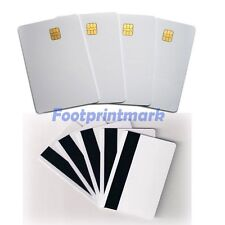 6 pcs Smart IC card with SLE 4442 chip + magnetic stripe HiCo  Contact IC card