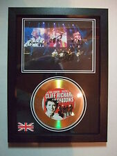CLIFF RICHARD & SHADOWS  SIGNED  4 GOLD DISC  NEW FRAME   DISPLAY  2