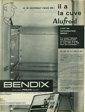 Publicité ancienne réfrigérateur Bendix 1954 issue de magazine