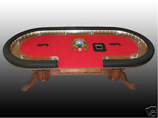World Class Custom Texas Holdem Poker Table- QUALITY!!!