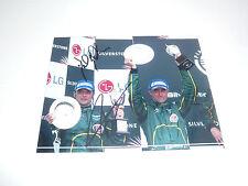 David Brabham / Darren Turner Signed Photo 4