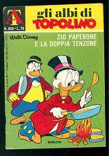 GLI ALBI DI TOPOLINO 959 APRILE 1973 WALT DISNEY ZIO PAPERONE DOPPIA TENTAZIONE