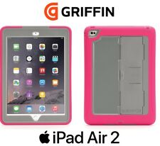 Griffin Survivor Slim iPad Air 2 & Pro 9.7 Rugged Slim Case Screen Cover Pink
